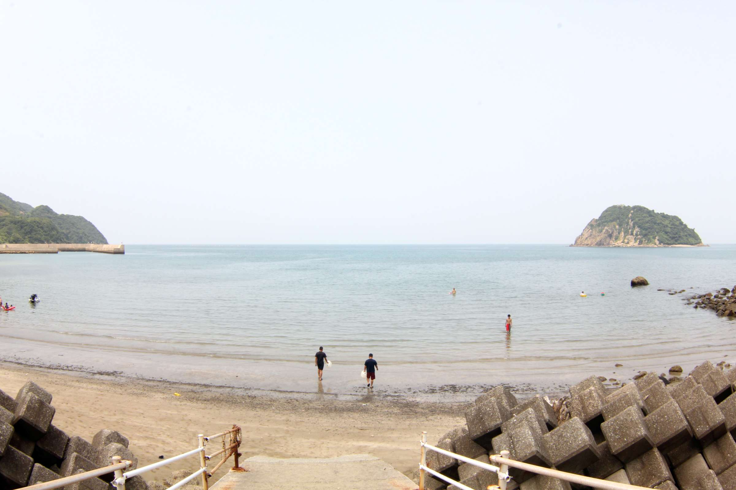 おおと海水浴場(大当海岸公園)