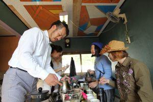 バリスタ「ナガオ シンジ」氏によるフレンチプレスを使ったおいしいコーヒーの淹れかた講座