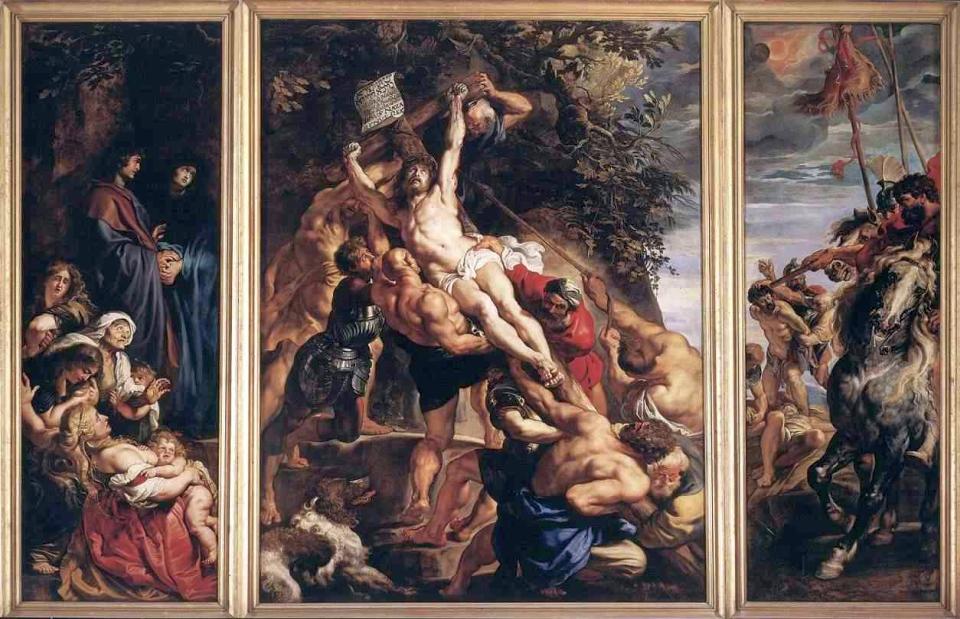 ルーベンスの大作『キリストの降架』
