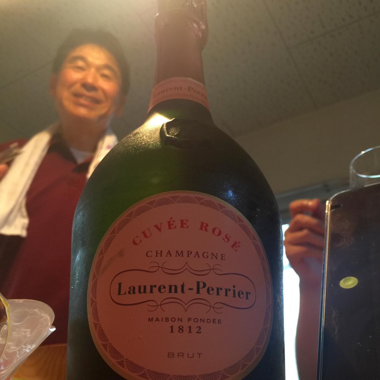 Laurent-perrier ローランペリエ キュヴェ ロゼ シャンパン